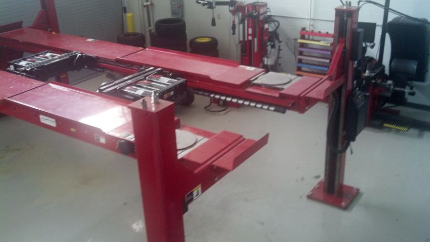 NCCAR Garage Equipment
